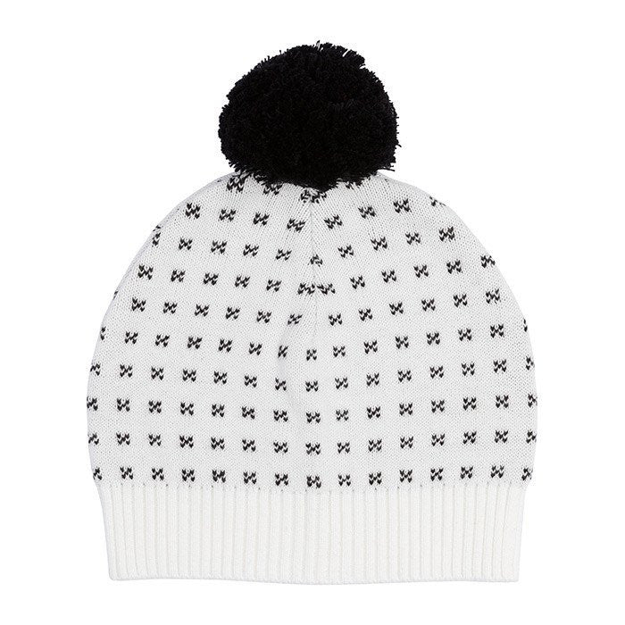 Miann & Co - Mini Cross Beanie