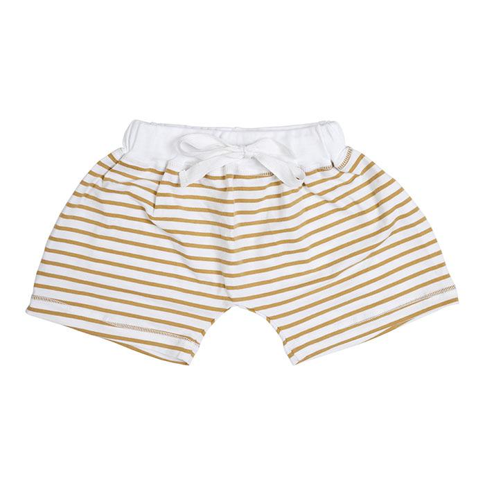Miann & Co - Mustard Stripe Shorts - Kids