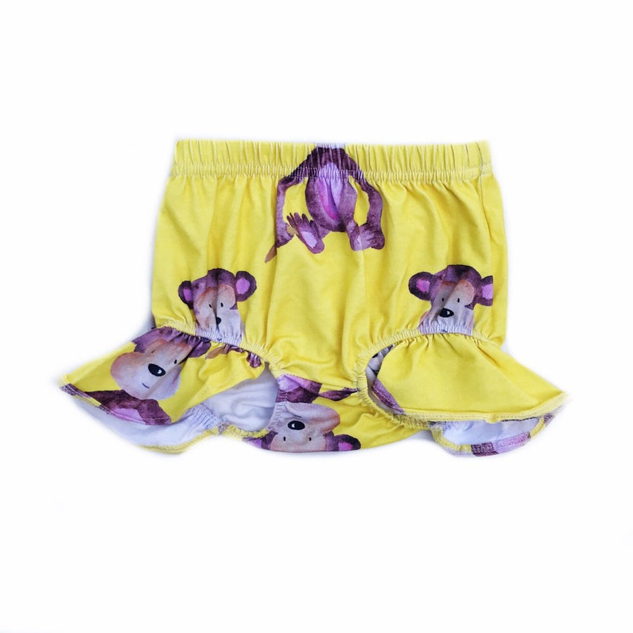 Cheeky Chickadee- Monkey Cotton Bloomers