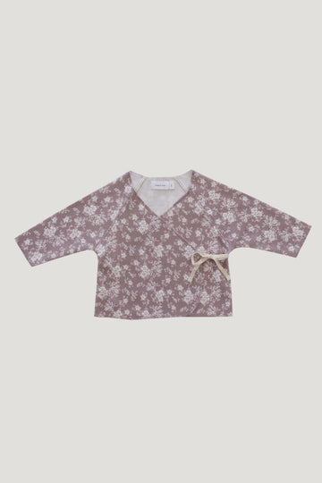 Jamie Kay - Organic Cotton Wrap Top - Fawn Floral