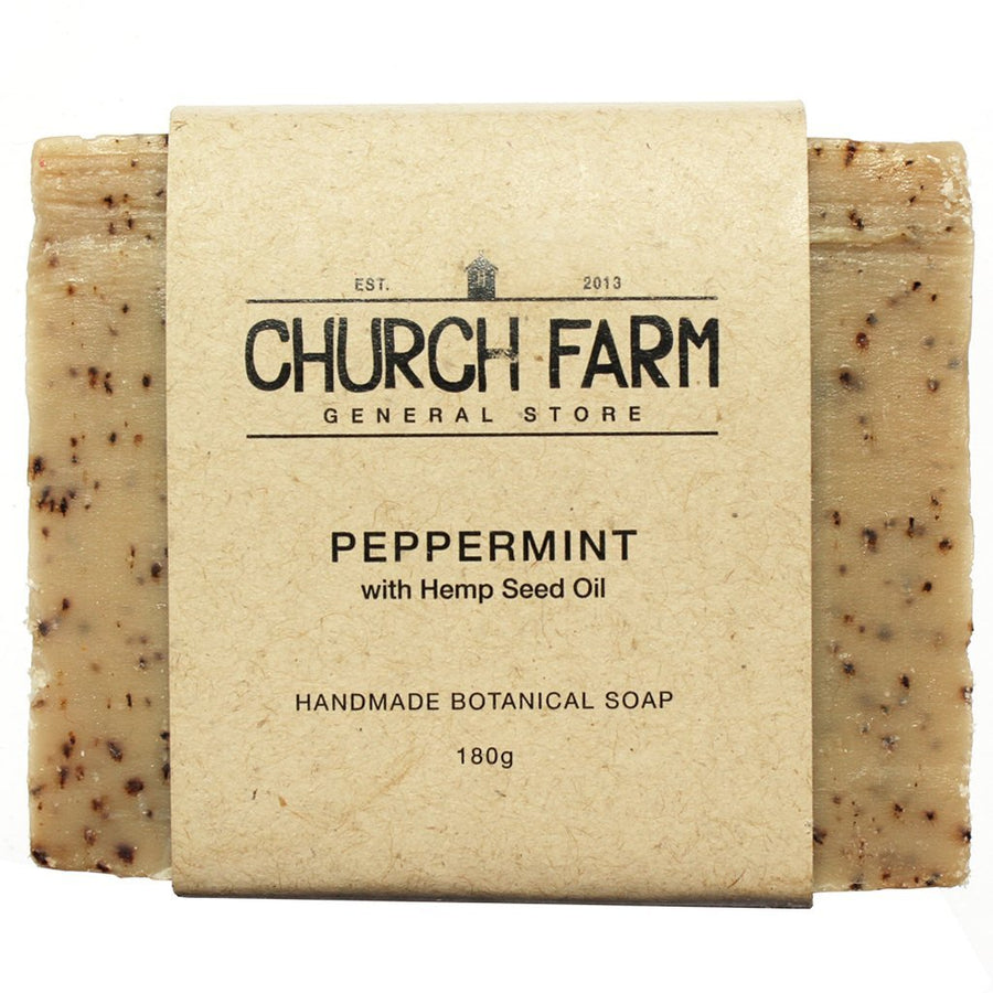 Church Farm - Handmade Soap - Peppermint