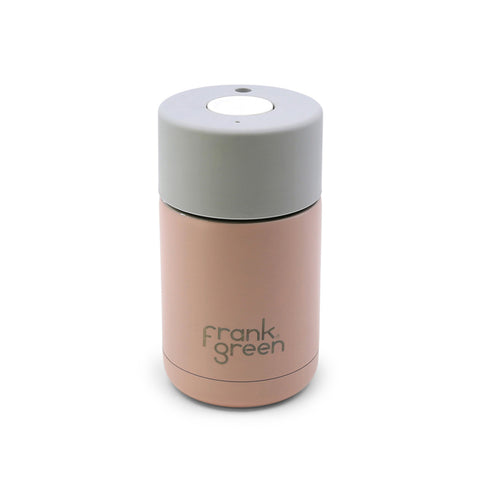 Frank Green - Stainless Steel Smart Cup 10oz - Nude Rose / Harbour Mist / Coconut Milk