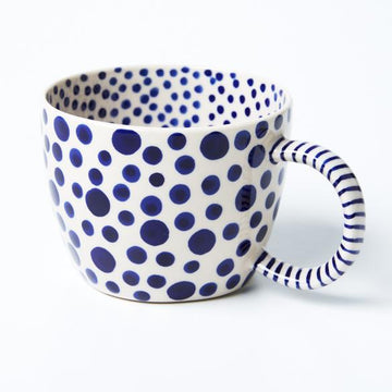 Jones & Co - Chino Mug - Navy Spot