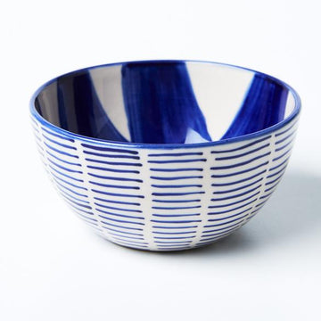 Jones & Co - Chino Bowl - Blue Dash