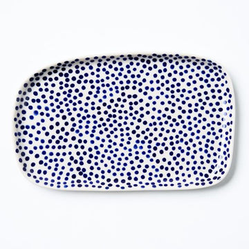 Jones & Co - CHINO TRAY NAVY SPRINKLE