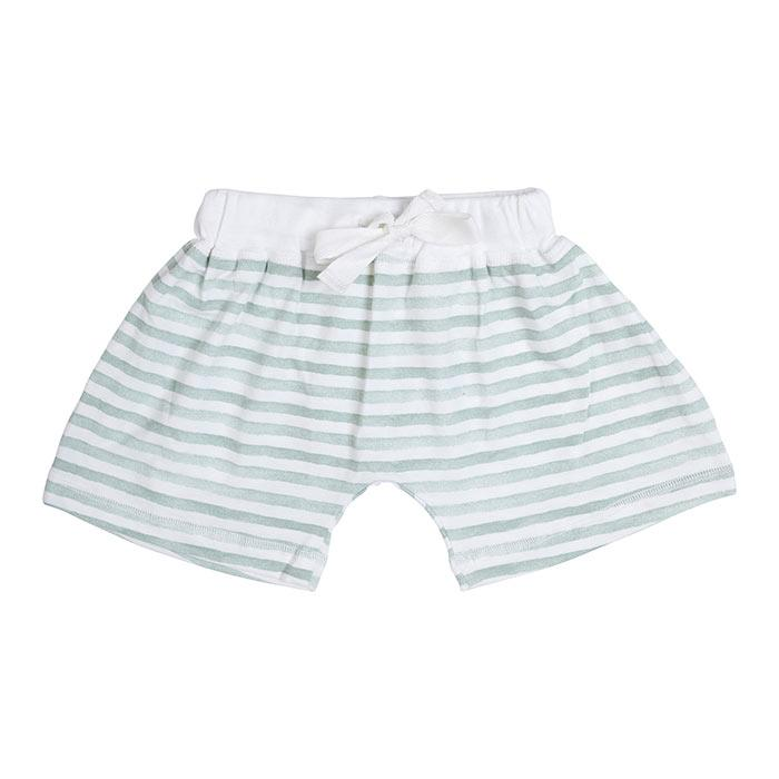Miann & Co - Mint Stripe Shorts - Kids