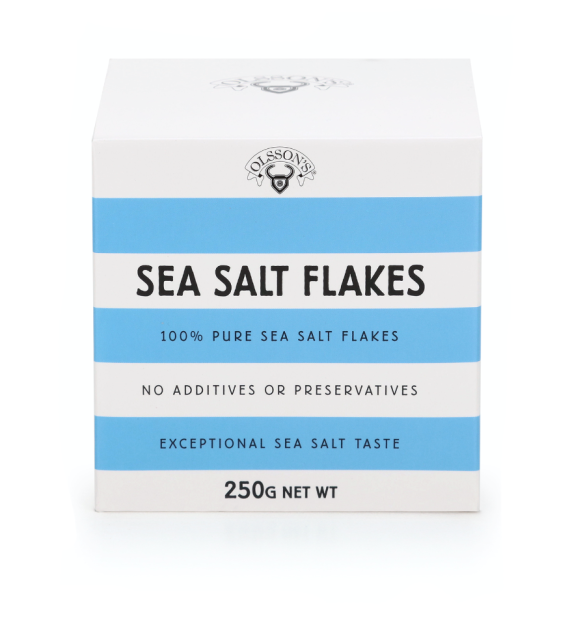 Olsson's Salt - Sea Salt Flakes 250gm cube