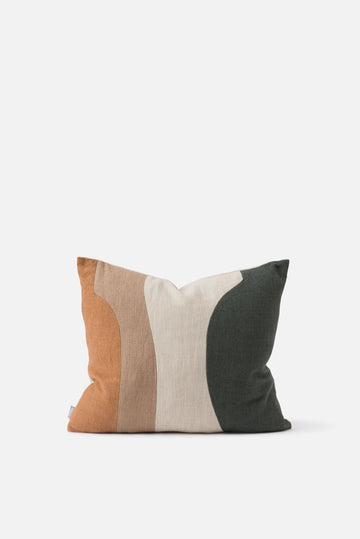 Citta - Form Study No.1 Patchwork Cushion with Feather Insert