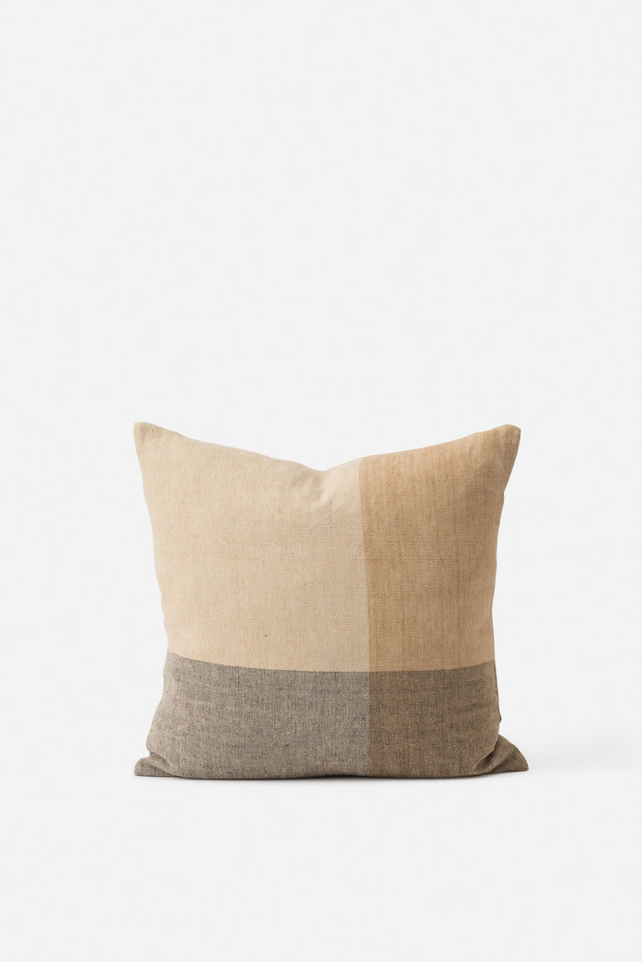 Citta - Henri Handowven Linen Cushion with Feather Insert