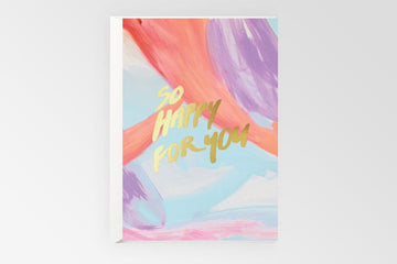 Rachel Kennedy Designs - Card - So Happy For You