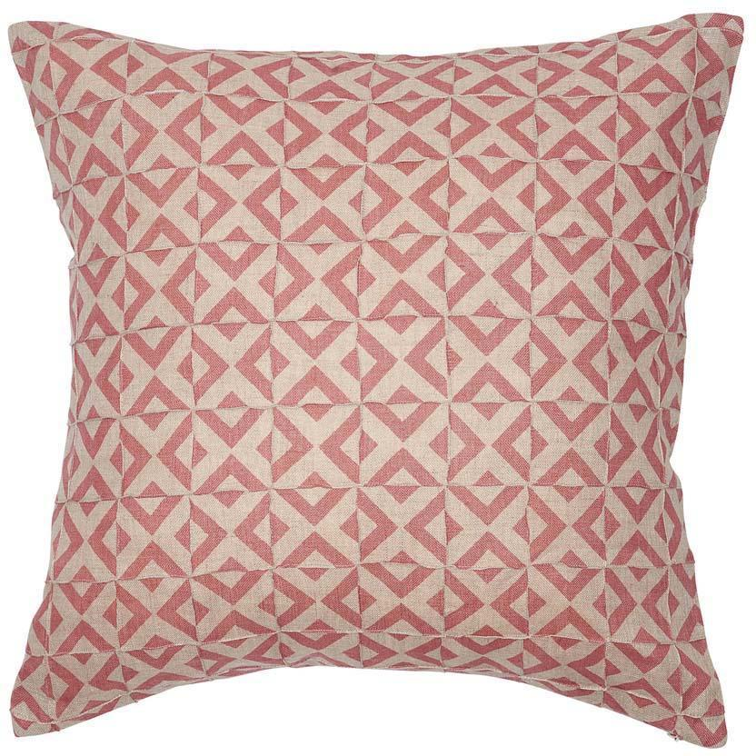 Eadie Lifestyle - Surrey Cushion 50x50cm - Dusty Rose