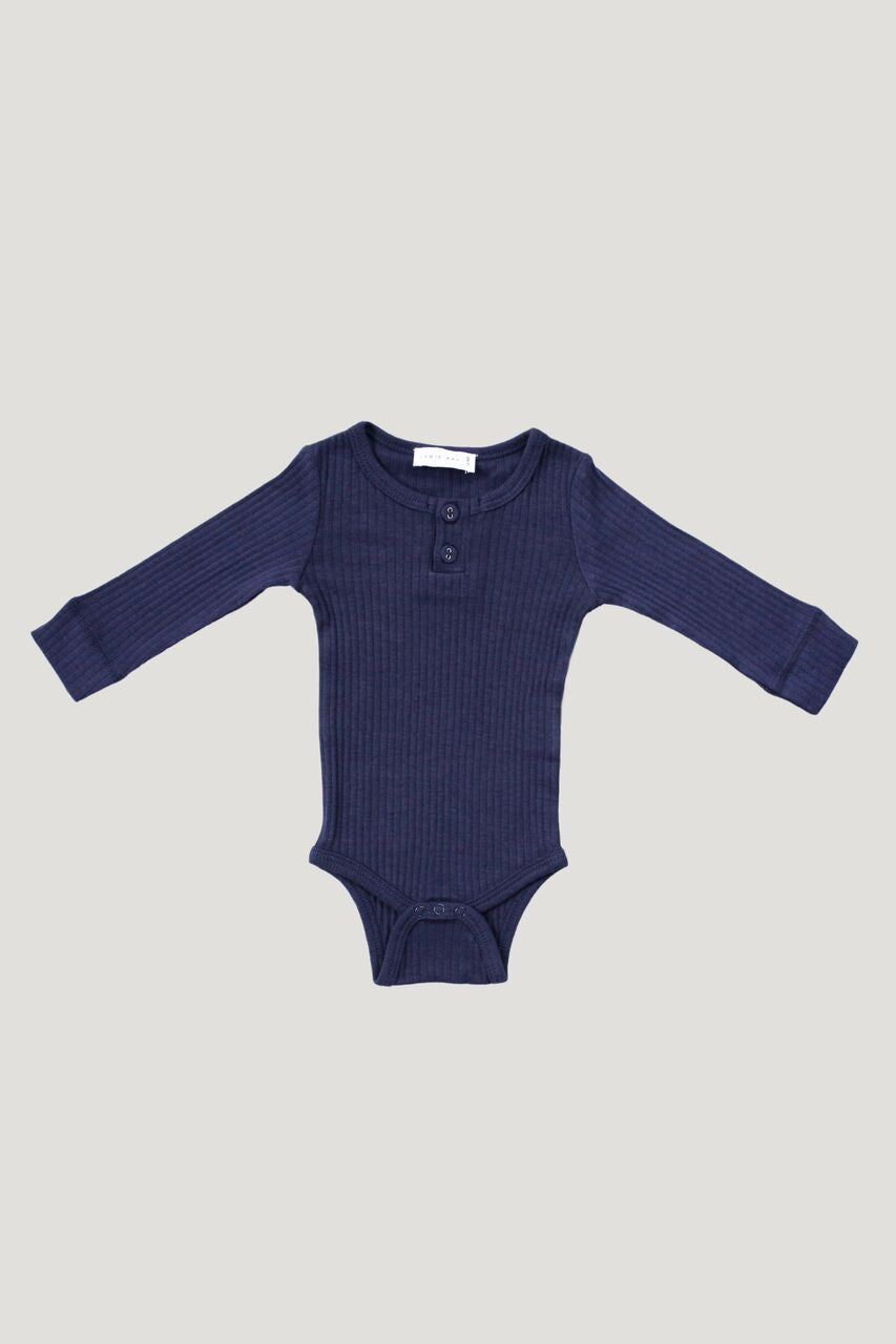 Jamie Kay - Cotton Modal Bodysuit - Navy