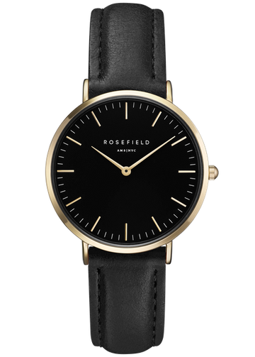 Rosefield Watches - The Tribeca Black Black Gold