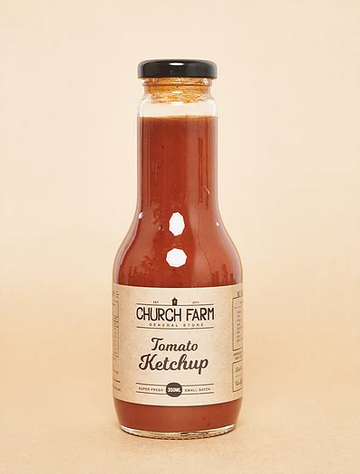 Church Farm - Real Tomato Ketchup