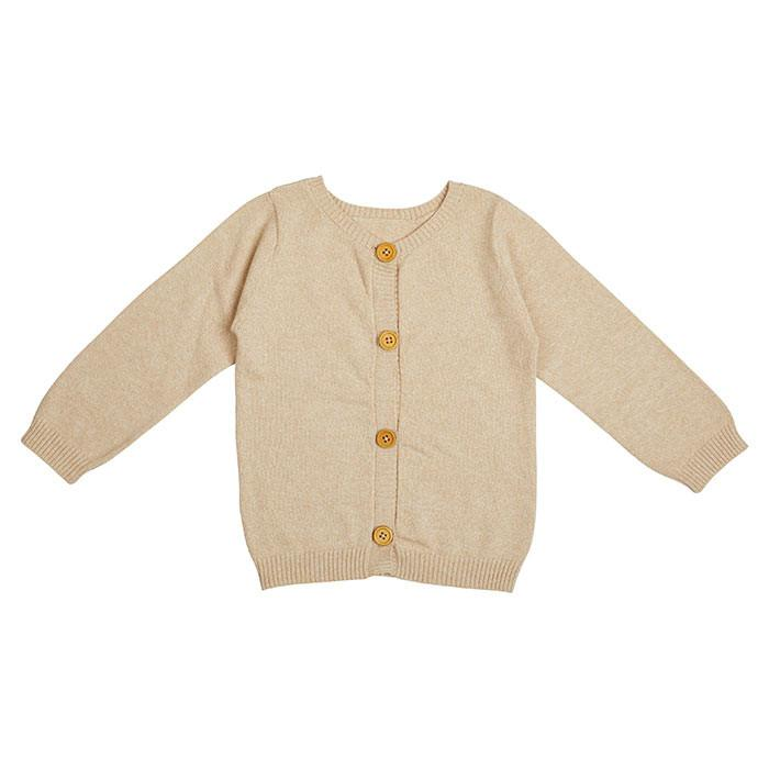 Miann & Co - Natural Knit Cardigan - Baby