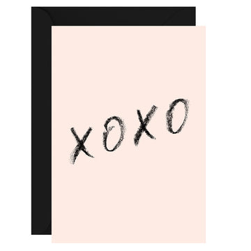 Galina Dixon - xoxo - Greeting Card