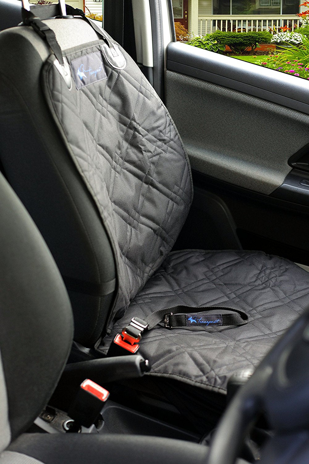 Luxury Bucket Front Seat Cover for Cars Trucks and SUV's - Black