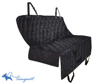 Luxury Pet Hammock Back Seat Cover for Cars Trucks and SUV's - Black
