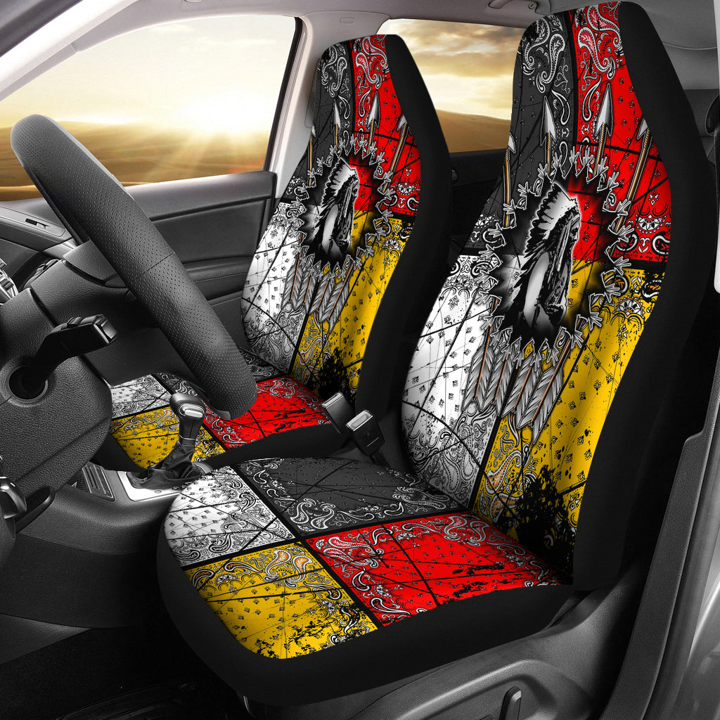 Native American Chief Two Seat Covers Bestofnative Com