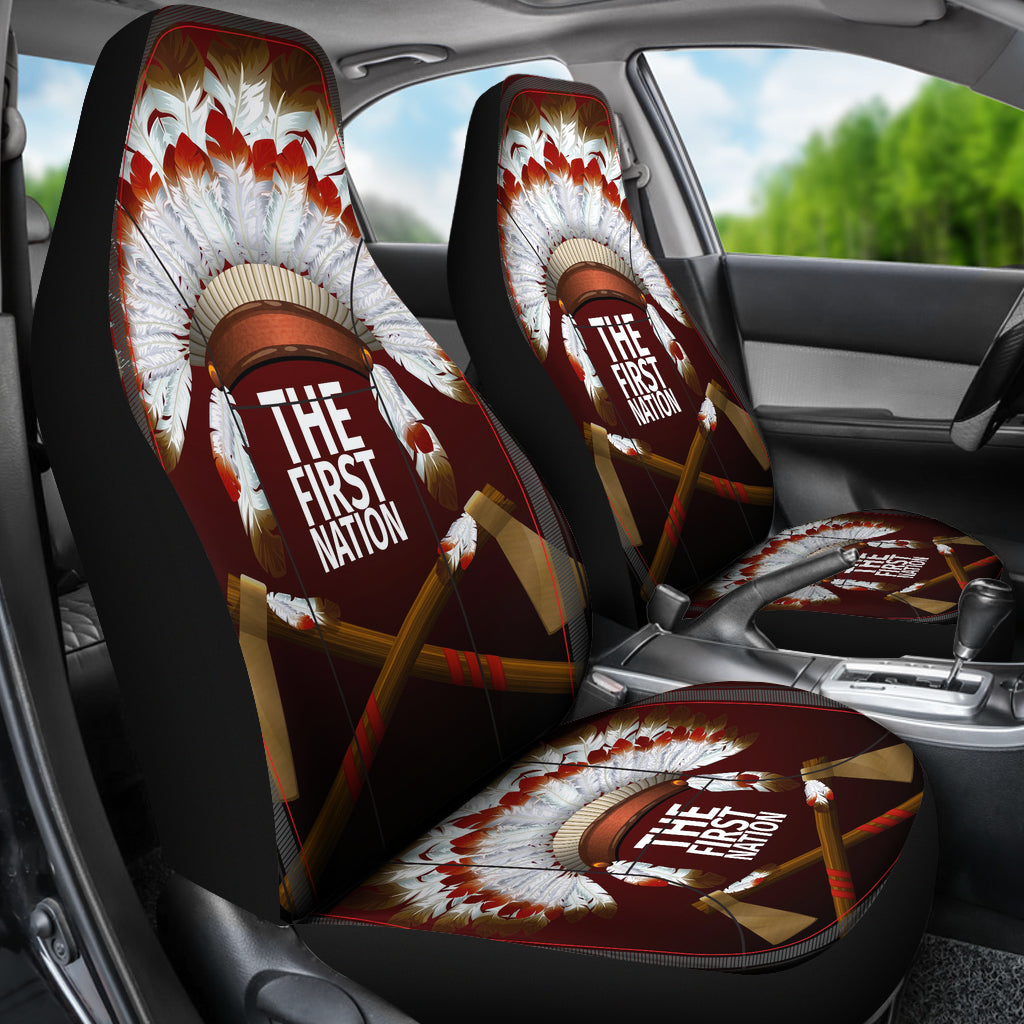 The First Nation Native American Design Car Seat Cover