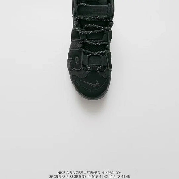 "Nike Air More Uptempo ""Triple Black"""
