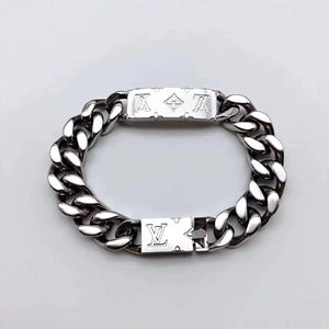 LOUIS VUITTON Monogram Chain Bracelet