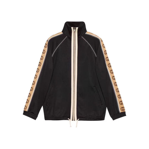 Gucci Logo Striped Track Jacket