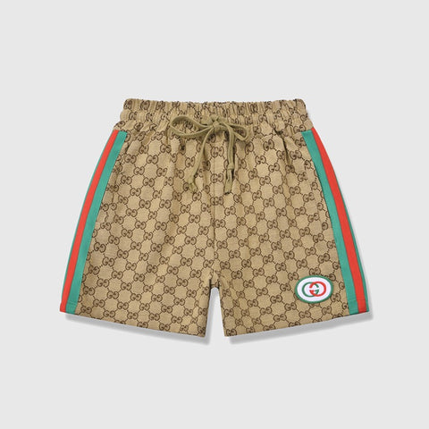 Gucci Classic GG Printed Shorts