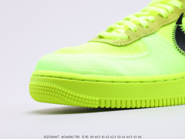 Off-White Nike Air Force 1 Volt -PK PREMIUM-