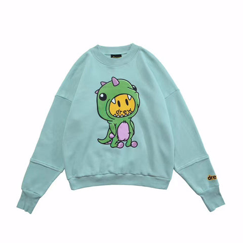 Drew House Dinodrew Deconstructed Crewneck Sweater