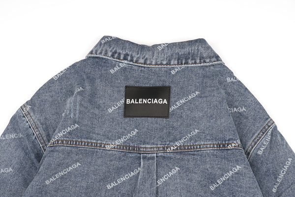 Balenciaga 20FW Denim Jacket