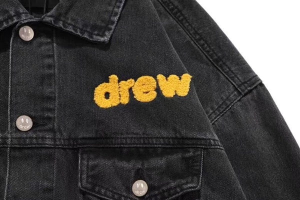 Drew House Mascot Black Denim Jacket