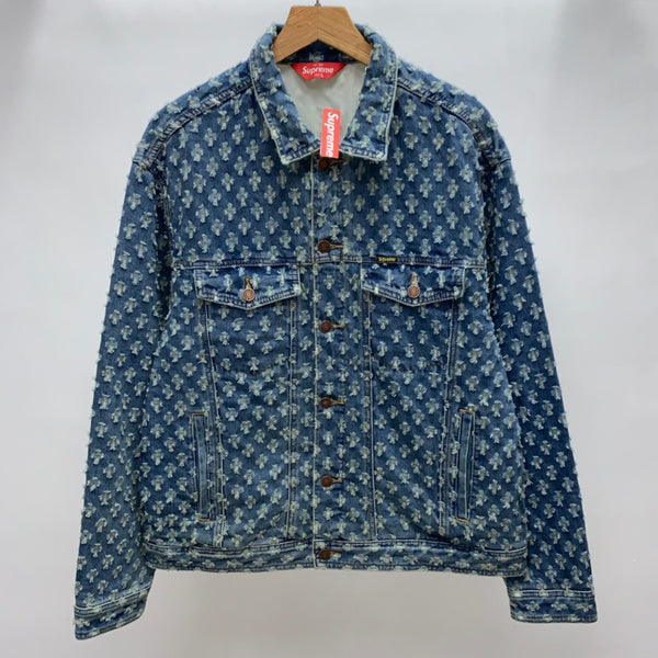 Supreme 20SS Hole Punch Denim Jacket