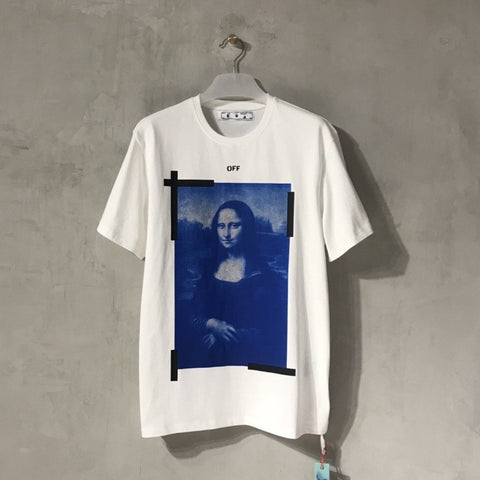 Off-White Mona Lisa White Tee