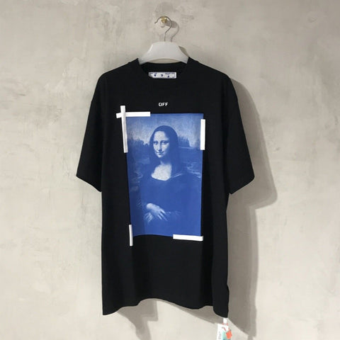 Off-White Mona Lisa Black Tee