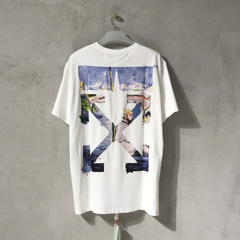 Off-White Colored Arrow Tee