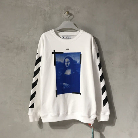 Off-White Mona Lisa White Sweater