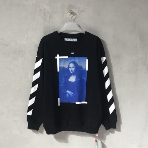 Off-White Mona Lisa Black Sweater