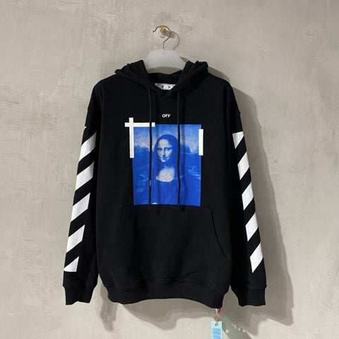 Off-White Mona Lisa Black Hoodie