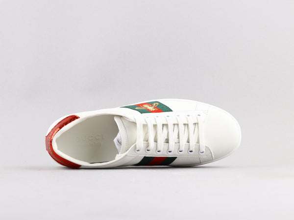 Gucci Bee Embroidered Low -PK PREMIUM-