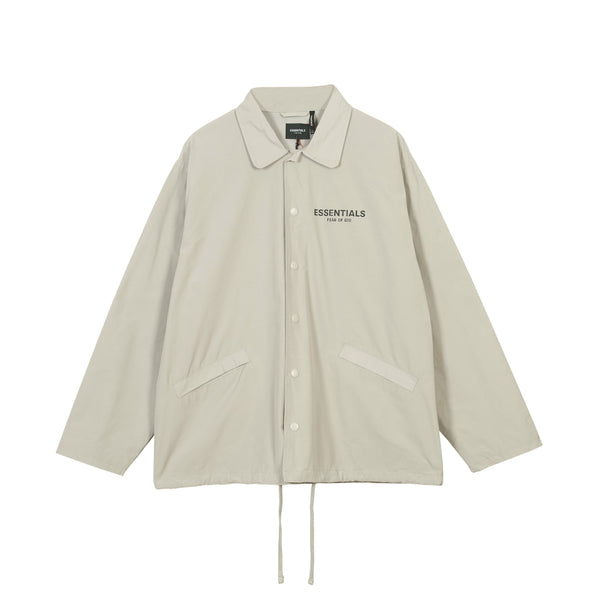Fear Of God Essential Nylon Buttom Up Jacket