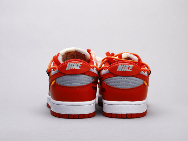 Off-White x Nike Dunk Low University Red -OWF PREMIUM-
