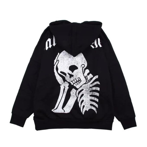 Palm Angels Skeleton Oversized Hoodie