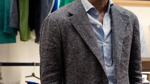 wool silk linen jacket