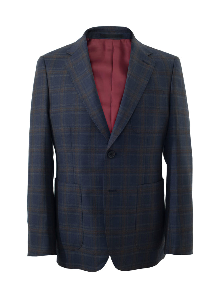 [Limited Edition] Glen Plaid Sport Jacket by Huddersfield Textile