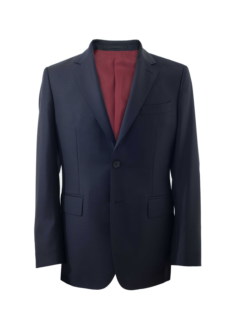 Dark Navy All Seasons Single Suit Jacket by Vitale Barberis Canonico