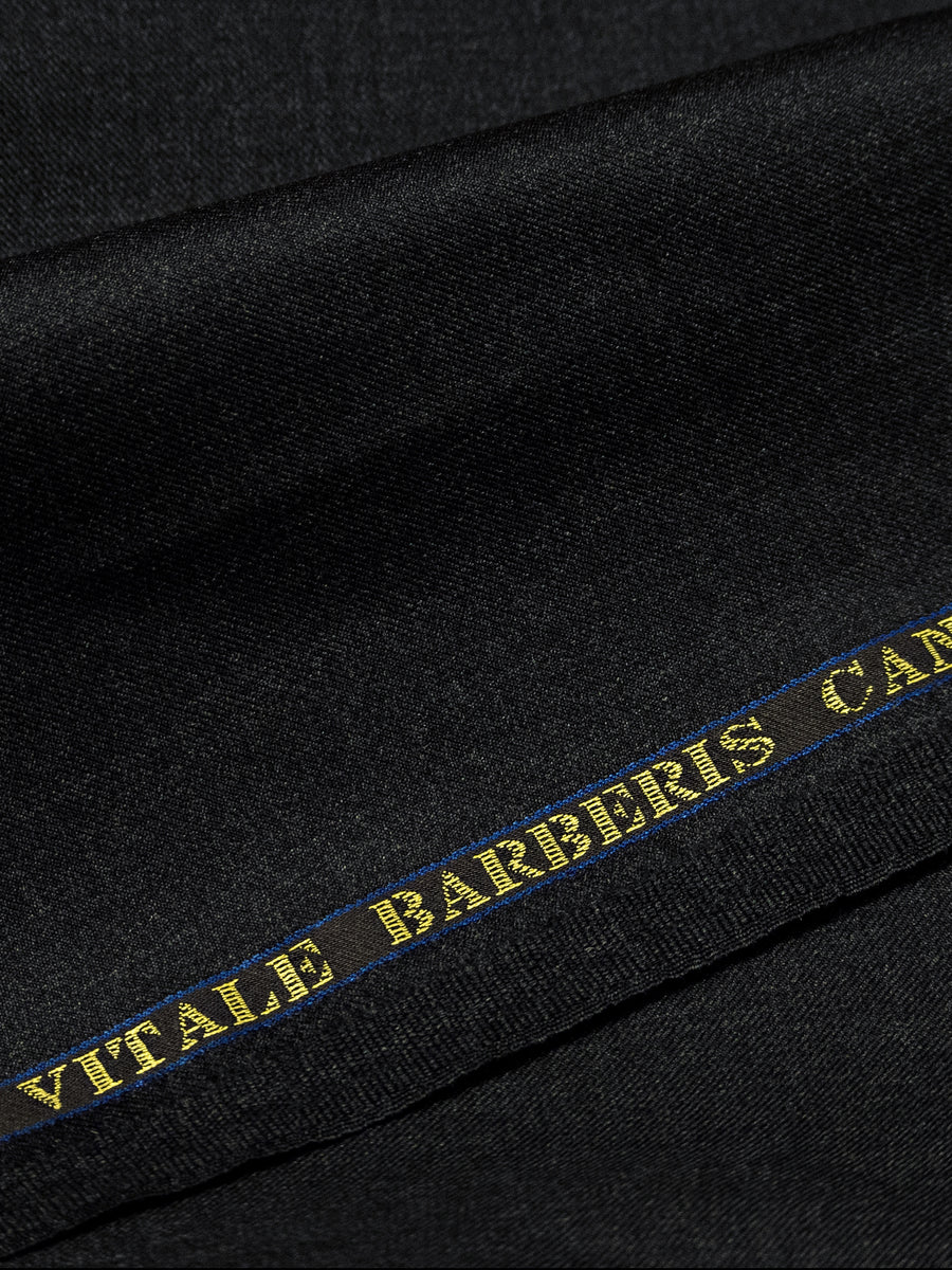 Charcoal Grey All Seasons Single Suit Trousers by Vitale Barberis Canonico