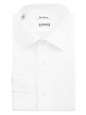 White Classic Collar Shirt by Leggiuno s.p.a.
