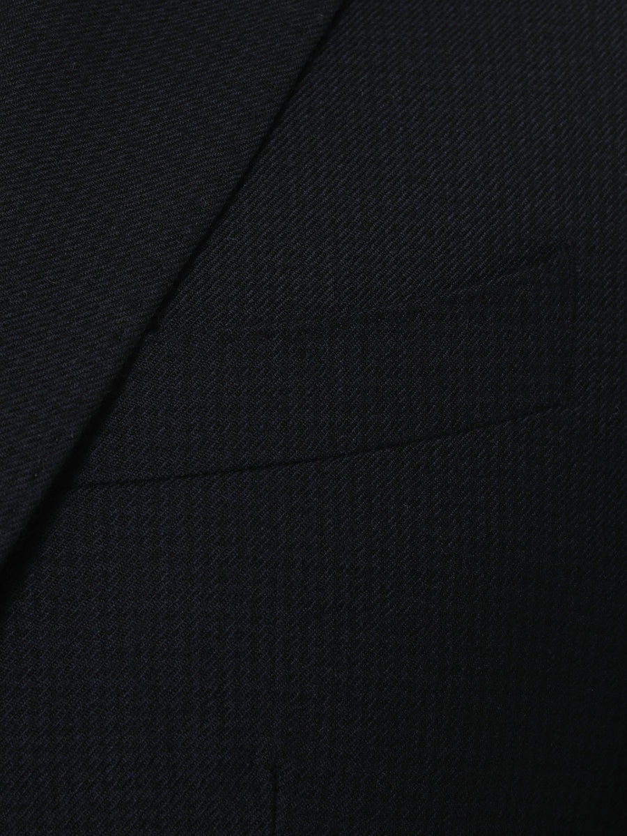 Houndstooth Dark Charcoal Suit by Vitale Barberis Canonico Super 110s' Fabric