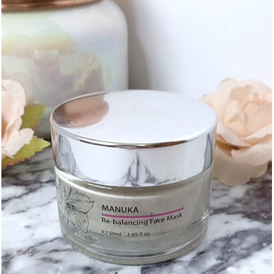 Manuka Re-Balancing Mask: Perfect for Soaking up Impurities